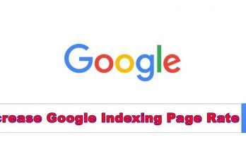 google indexing page rate