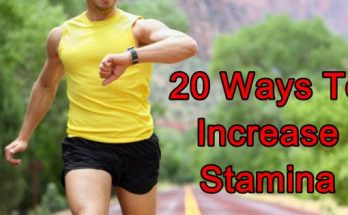 increase stamina fast