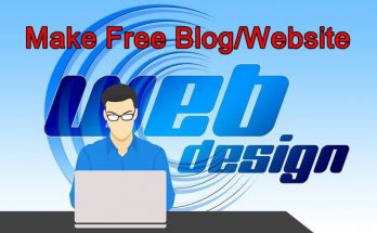 make your own blog for free